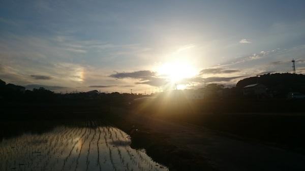太陽が3つある風景