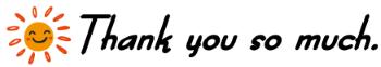 よんでくれてありがとう