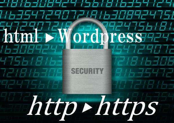 htmlサイトをWordpressにする