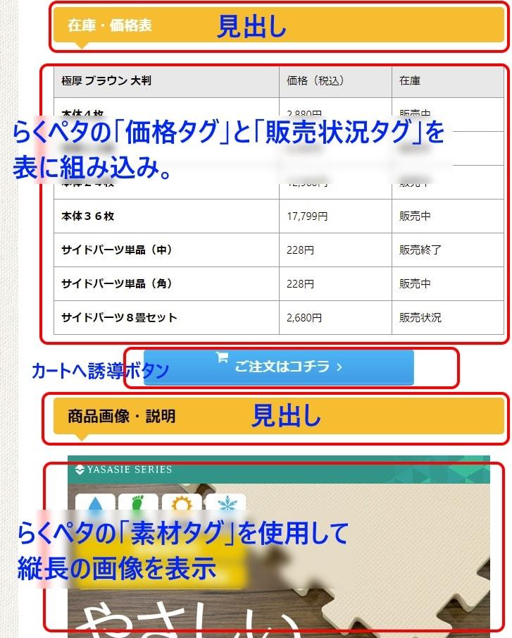 商品構成ページ2